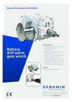 Gebuwin speciale batterij lieren – 200 – 1500 kg
