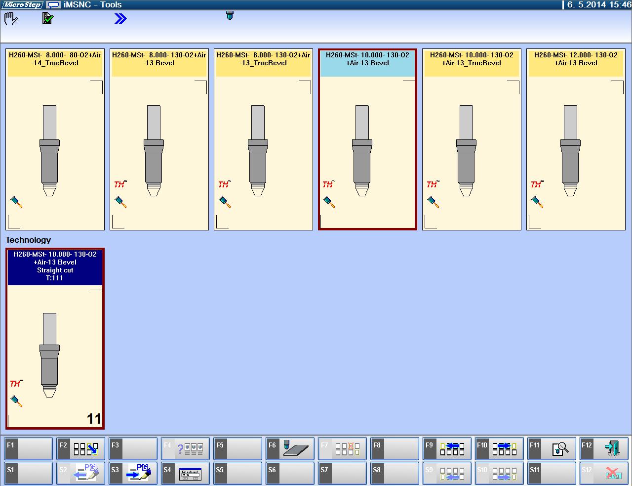 CNC-styringen - valg av prosess