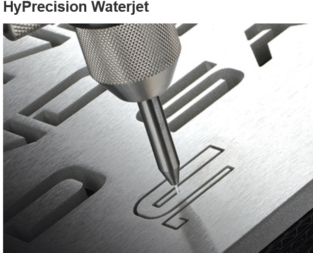 Hyprecison waterjet