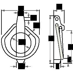 goupille-clip-acier-inox-schema