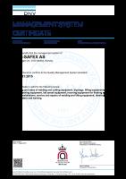 ISO 9001:2015 (engelsk)