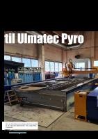 Ny MicroStep plasmaskjærer til Ulmatec Pyro