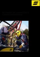 Sortiment for reparasjon ESAB